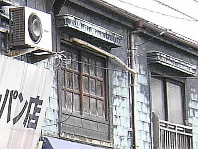 都内の銅板建築の例